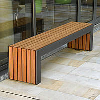 Скамейка садовая в стиле LOFT (NS-970001709), вис-450мм, шир-400мм, довж-1600мм,