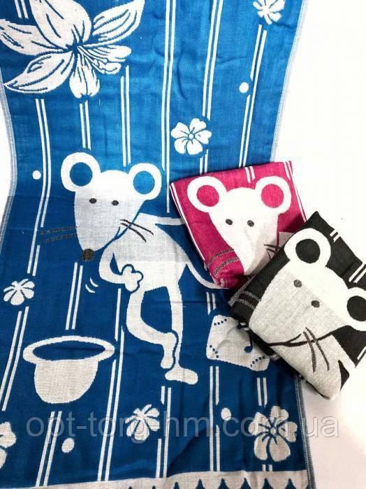 Кухонные полотенца Мыши лён