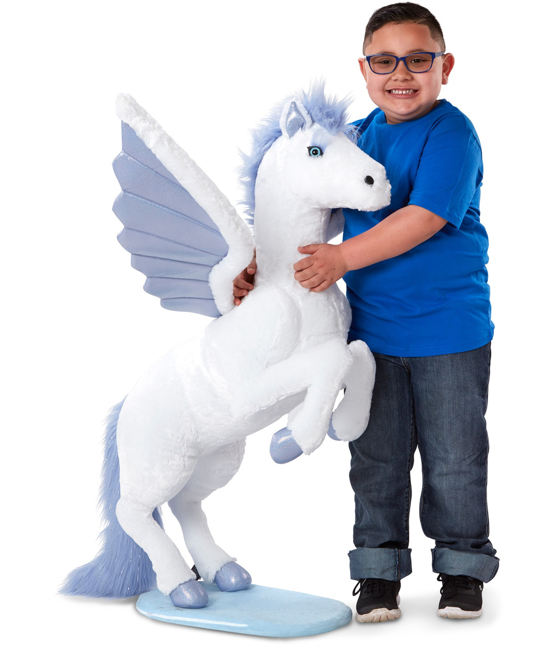 Большой плюшевый Крылатый конь Пегас Melissa&Doug 1 м (MD30409)