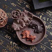 Рыбий хвост кастрюли с колбасой для обжаривания рыбы Палка Держатель для подарка Дзен-буддистский конус - 1TopShop, фото 2