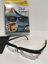 Очки с регулировкой линз Dial Vision № F6 ART-1136/EL-1065 (100шт/ящ)