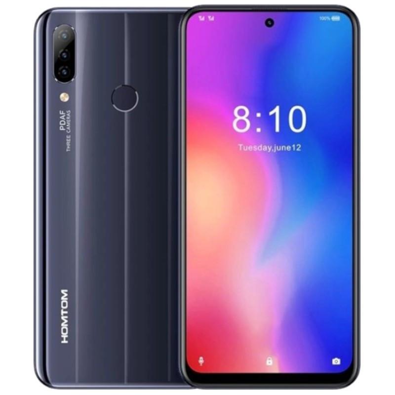 Смартфон Homtom P30 Pro 4/64 Gb Black MediaTek Helio P23 4000 маг