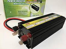 Преобразователь тока Wimpex 12V/220V/7000W (10 шт/ящ)