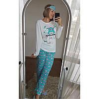 Пижама Голубая Сова