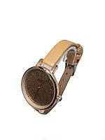 Часы женские кварцевые CCQ Блестки Песочный, фото 2