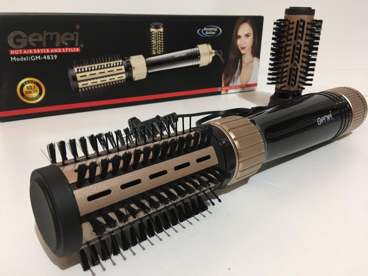 Фен для укладки волос c насадками GM-4839 (24 шт/ящ)