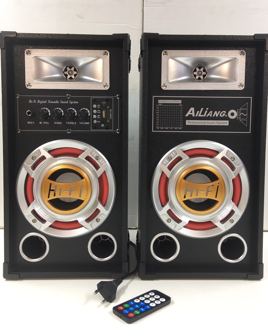 """Акустика USB AILIANG M-601K BT /6.5""""+6.5"""" (1 шт/ящ)"""