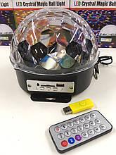Диско-куля Musik Ball+USB MP-3 ART 211 (20 шт/ящ)