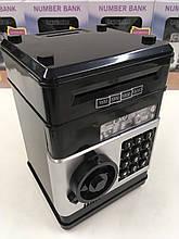 Игрушка, сейф с кодовым замком NUMBER BANK EL 510 (36 шт/ящ)