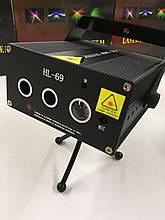 Лазерный проектор 3D + LED HL 69 (24)