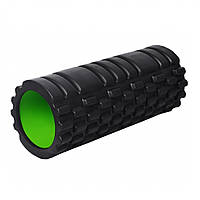 Масажний ролик 4025 Чорно-Зелений R143738