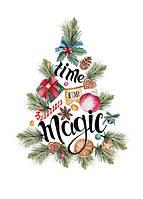 "Новогодняя открытка ""Magic Time"", фото 1"