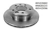 Тормозной диск задний (285х22мм) Mersedes Sprinter 408-416 / VW LT 46  1995-2006MEYLE (Германия)  0155230023