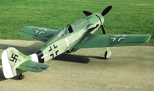 Авиамодель на радиоуправлении самолета  FW 190  ARF, 1790 мм