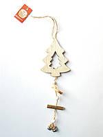 Новогодний декор подвеска елочка Bonadi