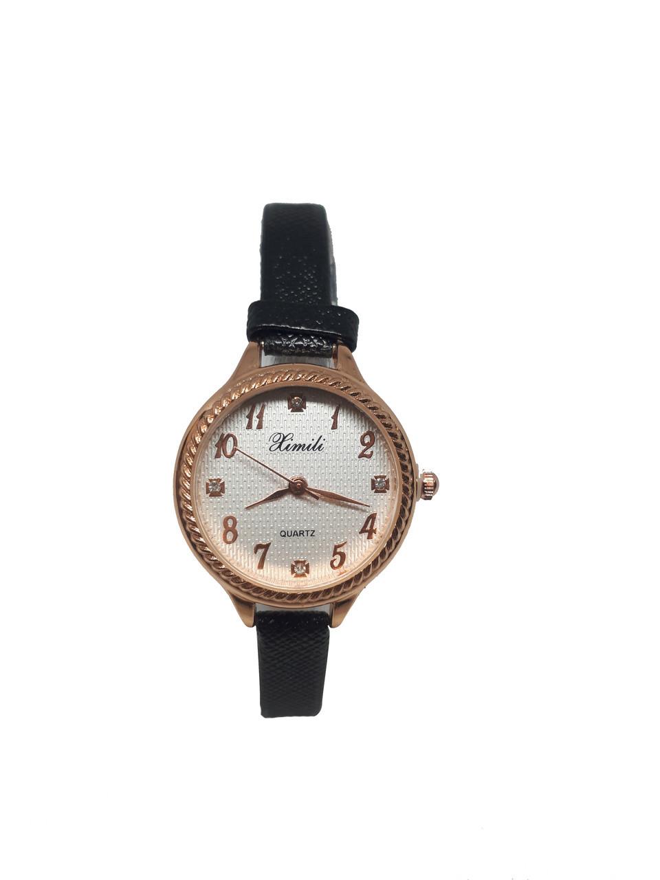 Часы женские кварцевые Ximili Tiny  черные