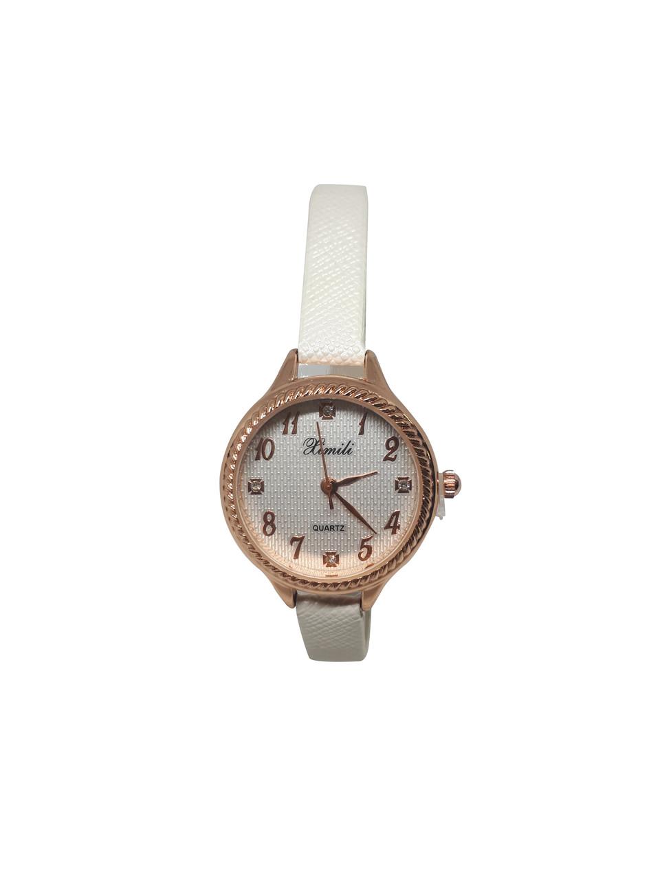 Часы женские кварцевые Ximili Tiny  белые