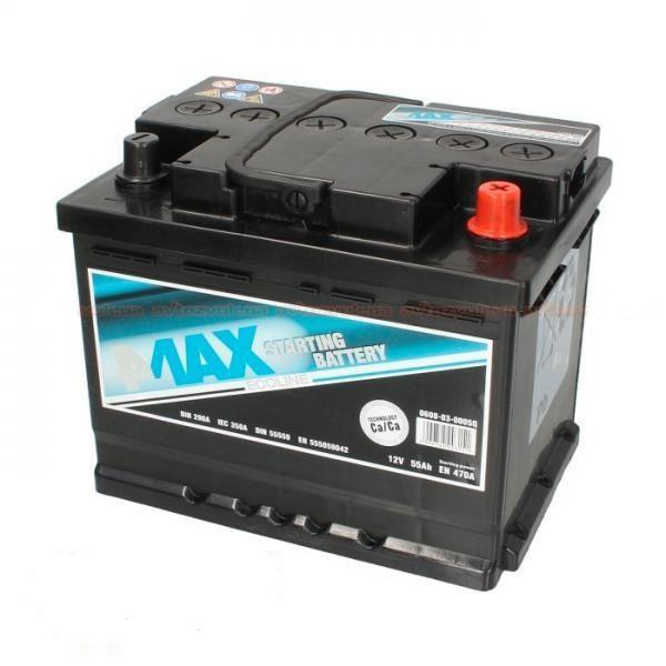 4Max 6СТ-55 АзЕ Ecoline (0608-03-0005Q) Автомобильный аккумулятор