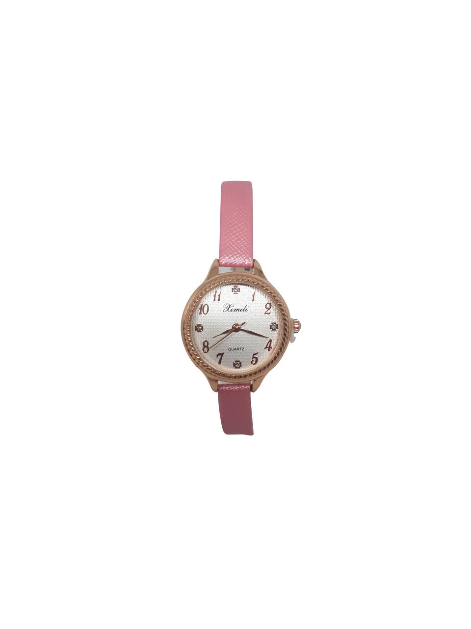 Часы женские кварцевые Ximili Tiny  розовые