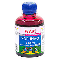 Чернила WWM для Epson L110/L210/L355 200г Magenta Водорастворимые (E64/M)