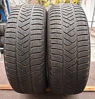 Шины б/у 235/55 R17 Pirelli SottoZero 3, ЗИМА, 5 мм+, пара