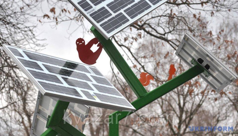 Солнечное дерево City Solar Tree