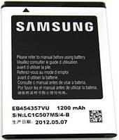 Аккумулятор для Samsung S5360, S5300, S5302,S5310, S5360, S5380, B5510, B5512 оригинальный, батарея EB454357VU