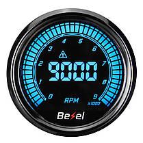 Тахометр 52 мм на десять цветов LED 12 В Авто Датчик 0-9000 об / мин -1TopShop, фото 3
