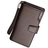 Мужской клатч Baellerry Business коричневый - 141213