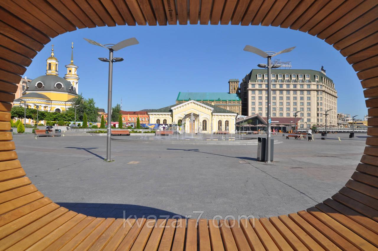 Солнечная лавочка City Solar Bench