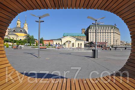 Сферична сонячна лавочка CitySolar Bench, фото 2