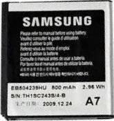 Аккумулятор для Samsung S5200, S5530 оригинальный, батарея EB504239HU