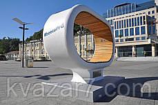 Солнечная лавочка City Solar Bench, фото 2