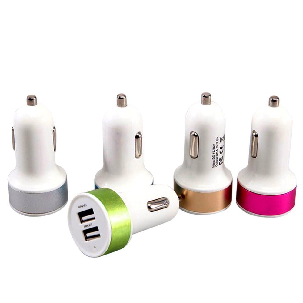Автомобильное зарядное устройство в прикуриватель на 2 USB CH135P