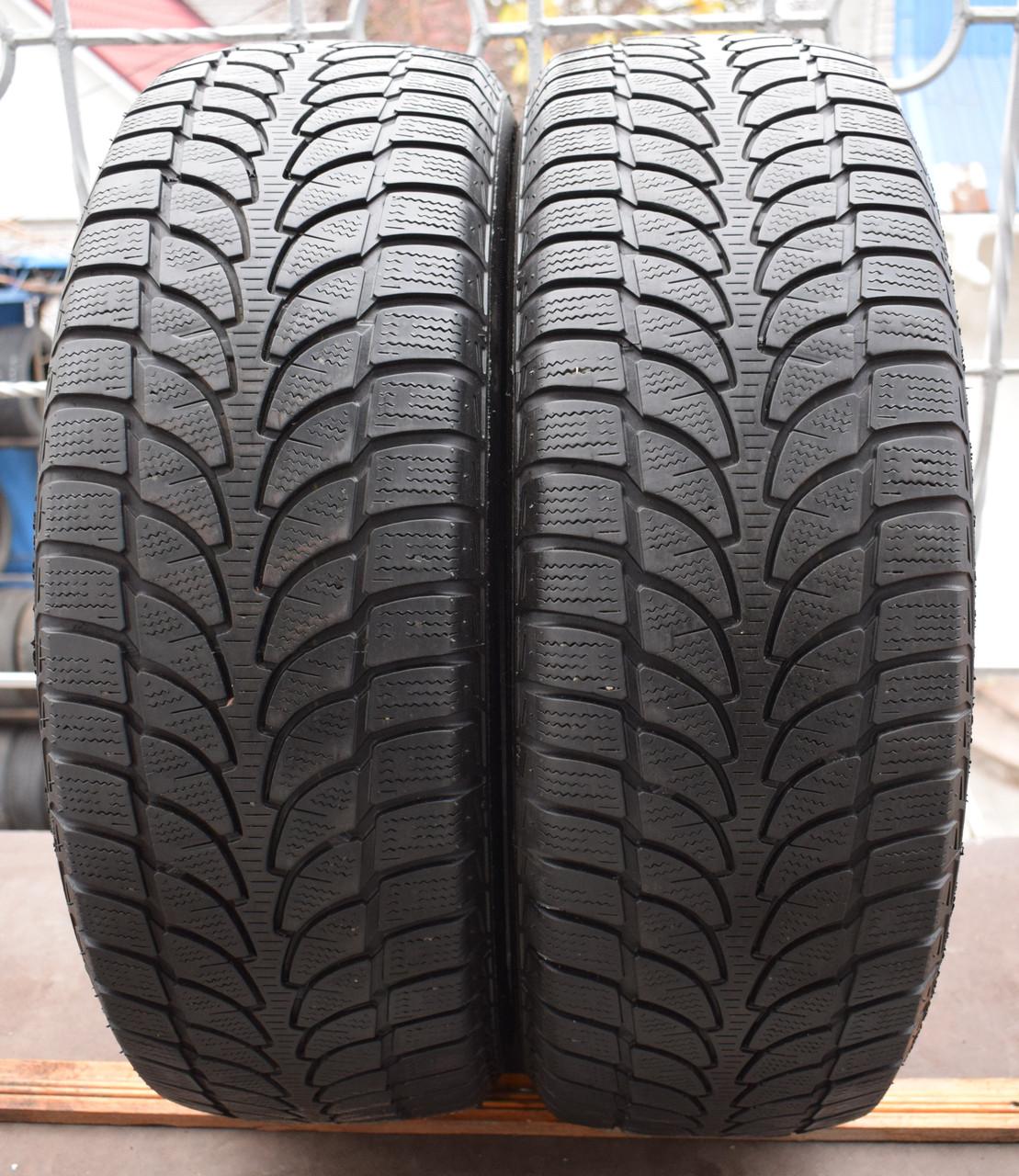 Шины б/у 225/65 R17 Bridgestone Blizzak LM-80, ЗИМА, пара
