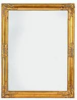 🏡Зеркало настенное с деревянной рамкой 70х90 см золото   зеркало, напольное зеркало, зеркало большое, зеркало напольное с ножкой, зеркало с ножкой,