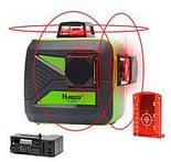 Лазерный уровень Huepar HP-9011R красные лучи, фото 3