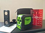 Лазерный уровень Huepar HP-9011R красные лучи, фото 5