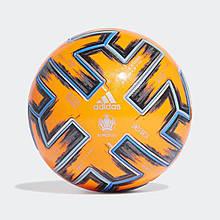 Мяч футбольный официальный Adidas Uniforia Pro Winter OMB Euro 2020 FH7360 Оранжевый