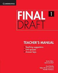 Final Draft 1 Teacher's Manual