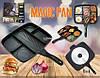 Инновационная  сковорода  гриль с антипригарным покрытием Magic Pan, фото 6