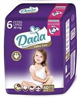 Dada Extra care premium 6 (16кг+)/40шт дада экстра кеа премиум подгузники для детей