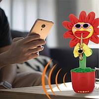 "Блютуз колонка SPS G26 BT sunflower mold ""Танцююча квітка"""