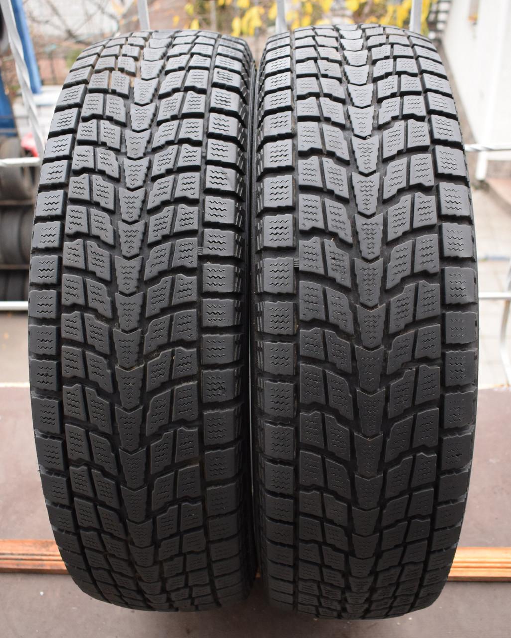 Шины б/у 225/65 R17 Dunlop GrandTrek SJ6, ЗИМА, пара