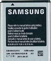 Аккумулятор для Samsung S5250, C6712, I5510, S5330, S5312, S5570, S5750, S5780, S7230 оригинальный, батарея EB494353V