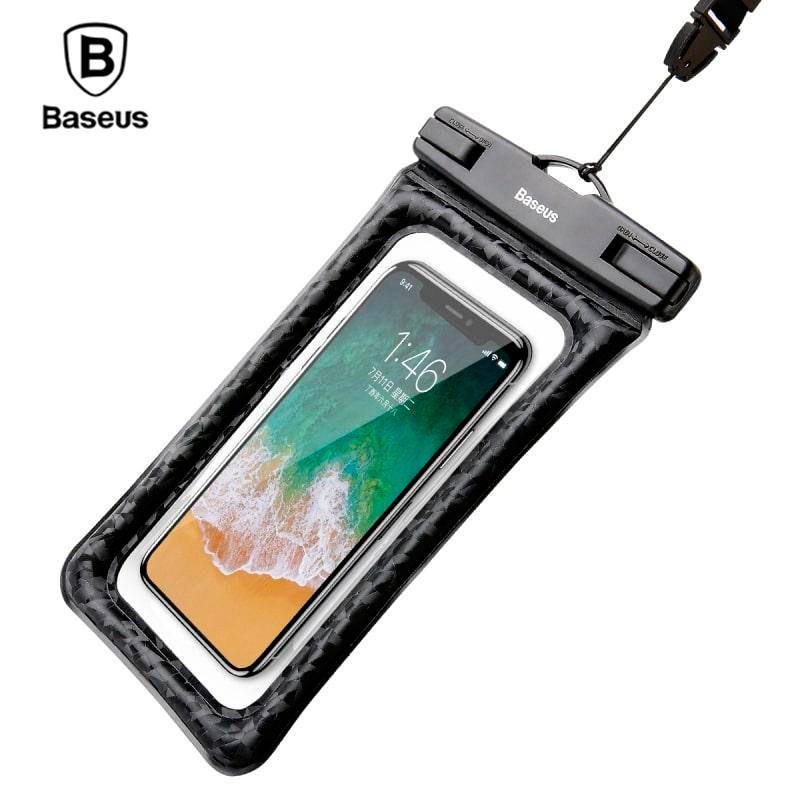 Водонепроницаемый чехол Baseus Air Cushion 5.5 Waterproof Bag ACFSD-A01 (Черный)