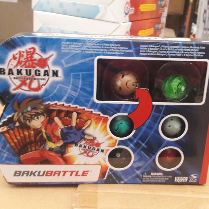 Игровой набор Бакуганы 6 шт.
