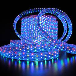 Гирлянда Дюралайт светодиодный шланг, RGB, круглый, 100м.