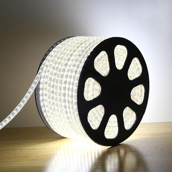 Гирлянда Дюралайт светодиодный шланг, Белый, круглый, 100м.