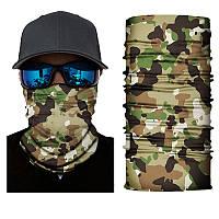 Бафф (маска) для лица камуфляжный
